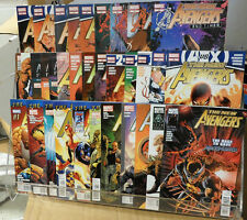 The Avengers Marvel Comic Run #1-34 Spider-man Wolverine The Thing  2010-2013