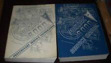 1986 GM Pontiac 6000 Service Shop Repair Manual Set OEM 86 W Preliminary Book
