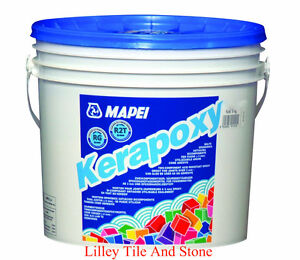 Mapei Kerapoxy Epoxy Grout 2kg Tub Available in 11 Colours
