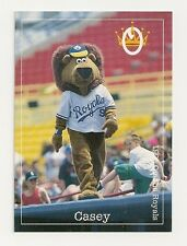 Omaha Royals/Omaha Storm Chasers/Casey The Lion 1995 Baseball Card