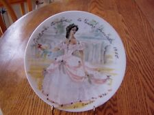 SCARLET IN CRINOLINE D\u0027ARCEAU-LIMOGES PLATE - COLLECTIBLE - GREAT PRICE! & Limoges Decorative Plates | eBay