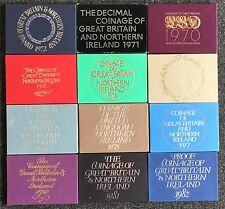 More details for royal mint proof coin year set 1970 to 1982 - choose your year!