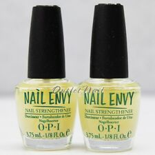 LOT 2 - OPI Nail Envy Nail Strengthener 3.75 ml - 1/8 fl oz Mini Original Set