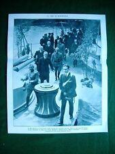 Nel 1922 Re a Genova amm. Cagni on Facta gen. Cittadini nave Dante Alighieri
