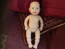 """PETERKIN GIRL FEMALE HARD BODIED 15""""  DOLL UNPLAYED WITH REBORN"""