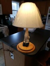 Caribou Hoof Taxidermy table Lamp
