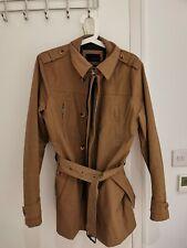 Zara Black Tag Men's Trench Coat Size S