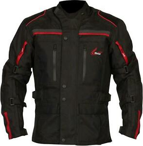 Weise Atlanta Waterproof Armoured  MOTORCYCLE Jacket Size SMALL 40 CHEST