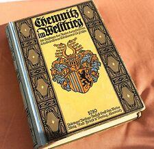 23089 Chemnitz im Weltkrieg 1914-18 Chronik vom Stadtarcivar Uhle von 1919 1. WK
