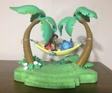 Disney Lilo and Stitch Swinging Hammock, Island Figurines RARE, Includes Watch!