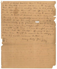 Francis Scott Key Autograph Letter Signed Supports Slave Colonization in Liberia