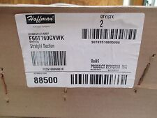 (2) HOFFMAN STRAIGHT SECTION CAT # F66T160GVWK  NEW OLD STOCK
