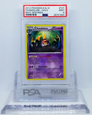 Pokemon BW NEXT DESTINIES CHANDELURE #101 SECRET RARE HOLO FOIL PSA 9 MINT #*