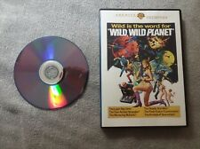 Wild, Wild Planet (Dvd, Wb Archive Collection) Tony Russell 1965 sci-fi movie