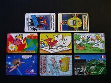 """Deutschland  8 x K - Telefonkarten  """"Comic""""  voll, ungebraucht !!"""