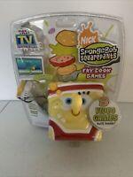 SpongeBob SquarePants The Fry Cook Games - Plug and Play Joystick TV NEW