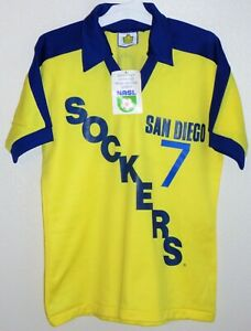 VTG ADMIRAL USA NASL SAN DIEGO SOCKERS MEXICO H. SANCHEZ SOCCER JERSEY SHIRT NEW