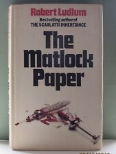 The Matlock Papers by Robert Ludlum. Very scarce. 1st Edition.
