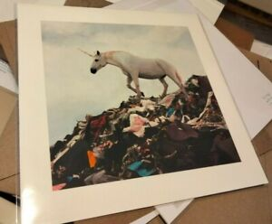 Josh Keyes Rainbows End Limited Edition Print Unicorn Tiny Showcase 2020