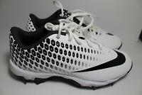 Nike Vapor Ultrafly 2 Keystone Youth Baseball Cleats White Black Youth 5.5Y