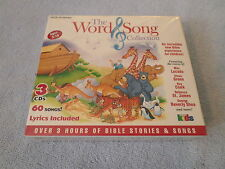 The Word & Song Collection, Vol. 1 -3  by Various Artists (3 CD SET, 2000) - NEW