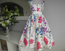 Formal 100% Cotton Dresses (2-16 Years) for Girls