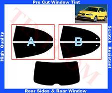 Pre-Cut Window Tint Seat Ibiza 3D 2002-2006 Rear Window & Rear Sides Any Shade
