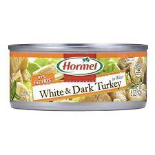 (12) 5 Ounce Cans Hormel HORMEL White & Dark Chunk Turkey