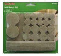 Supafix Felt Pads Guard Set of 27 Assorted Seld Adhesive 5mm Floor Protectors