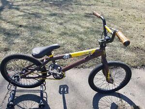 "MID SCHOOL BMX SE RACING WILDMAN 18"" FREESTYLE BIKE PROFILE HUBS TI CRANK RARE"
