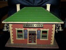 """LIONEL STATION """"LIONEL CITY"""" - 124 - Fair Condition"""