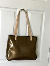 GUESS Bronze G Embossed Shoulder Bag Tote