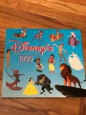 Disney Lion King Aladdin Bambi Cinderella Animated Film Classics 1995 Calendar