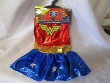 NWT Marvel Wonder Woman Pet Halloween Costume. Size Medium