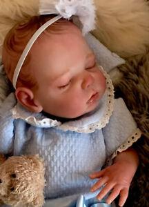 Beautiful SLEEPING Reborn baby doll..Lara