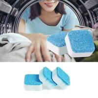 12Pcs Washer Cleaning Washing Machine Cleaner Detergent Effervescent Tablet Best