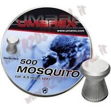 PLOMBS UMAREX MOUSTIQUE CAL 4.5 mm TÊTE PLATE 500 PCS BOULETTES air comprimé