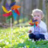 Garden Yard Party Camping Windmill Wind Spinner Ornament Decoration Kids Toy