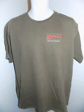Bass Pro Shops Red Neck Multi Tasking 2 Sided T Shirt Size Large Brown