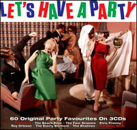60 Greatest ROCK & ROLL PARTY HITS * New 3-CD Boxset * All Orig 50's & 60's Hits