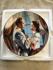 Gone With The Wind The Fond Farewell Plate New With Papers