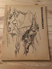 Rare Sci-Fi Fanzine CROSSROADS #7 Dean Koontz Harlan Ellison Vintage Zine
