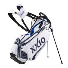 XXIO Premium Stand Golf Bag - White/Black/Blue - New 2021