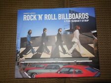 Rock 'n' Roll Billboards of the Sunset Strip by Robert Landau (2012, Hardcover)