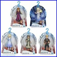 Disney Frozen 2 Poseable Mini Doll Figures Queen Elsa Kristoff Anna Honeymaren