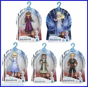 Disney Frozen 2 Poseable Mini Doll Figures Queen Elsa Kristoff Anna Honeymaren