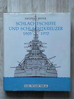 Schlachtschiffe und Schlachtkreuzer 1905-1970 - Siegfried Breyer - Buch
