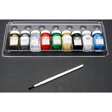 Testors 9146XT 9 miniature bottles of enamel paint for plastic models