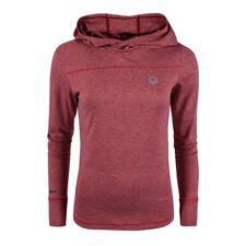 Halti Nella Women's Training Shirt Kapuzen-Stretchpulli for Ladies Rhubard Red