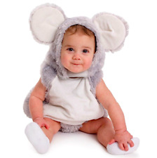 Squeaky Mouse Halloween Christmas Costume Infant Toddlers Baby 12-24 Months